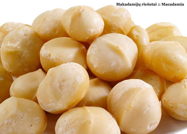 Macadamia riesutai kaina